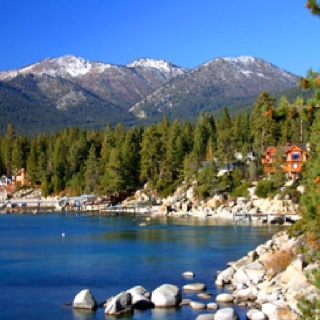Looks like the perfect place to write...Lake Tahoe, Northshore, Incline Village