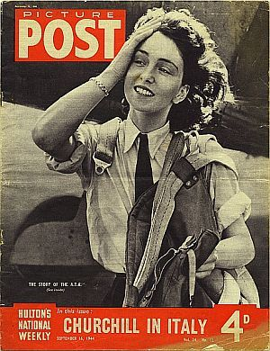 Maureen Adele Chase Dunlop de Popp (26.10.1920|29.5.2012) née Dunlop, b. Quilmes, nr Buenos Aires of British/Australian parents, + through her dual nationality flew for the ATA during WWII. Dunlop became a covergirl when pictured pushing her hair out of her face after she left the cockpit of a Fairey Barracuda aircraft. The shot featured on the front page of Picture Post magazine in 1944, proving women could be fearless as well as glamorous, and integral to the war effort.