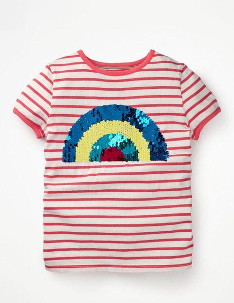 Boden T Shirt Mit Pailletten Einhorn Pink Madchen Boden Pink Pink