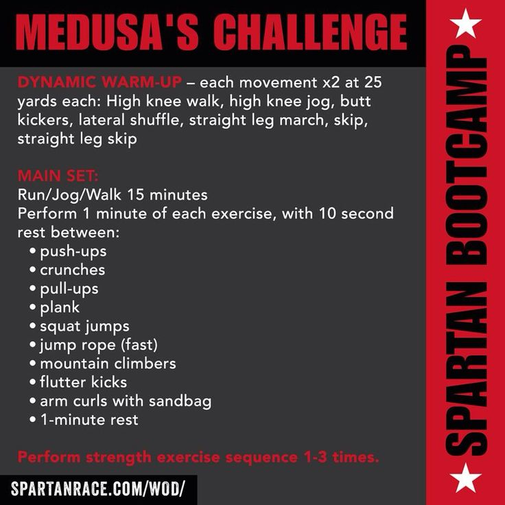 Spartan race - boot camp workout