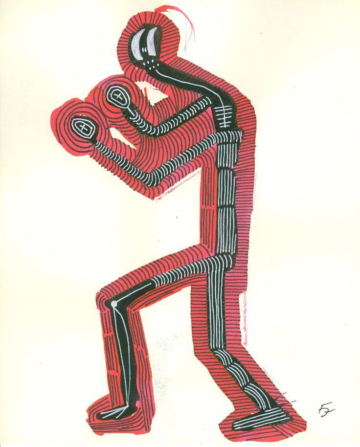 Title: Juggler 23 / Technic:mixed / Year:2016 / Artist: Fülöp József