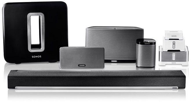 Sonos BRIDGE, PLAY 1 and PLAY 3 bundle - £457