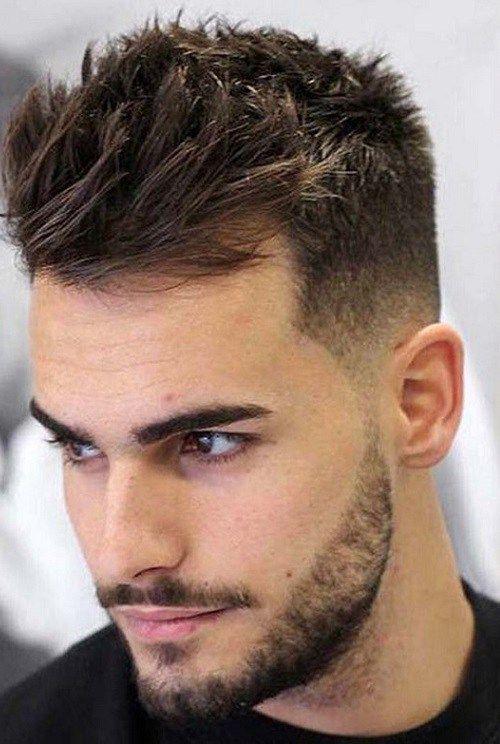 stylish haircuts men 2018