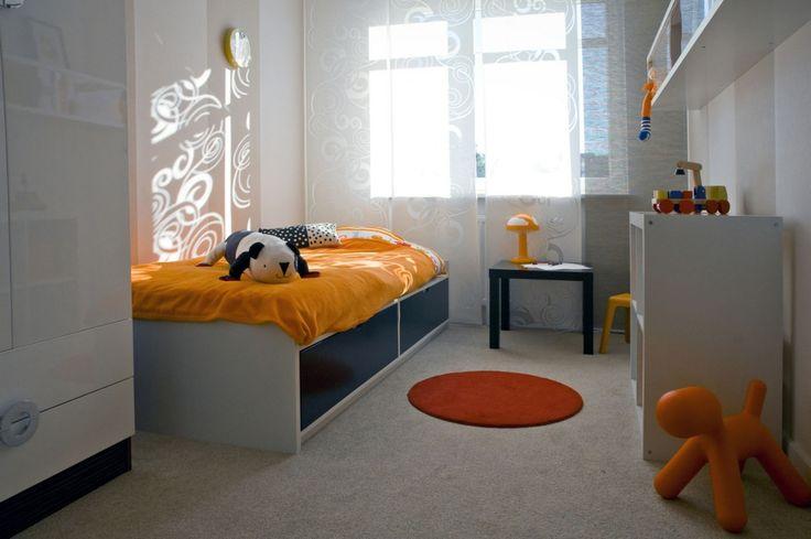 07 łóżko okrągły dywanik zabawki z ikea
