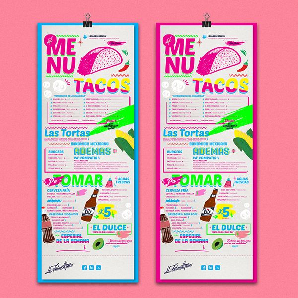 La Fábrica del Taco  by Bosque ™, via Behance