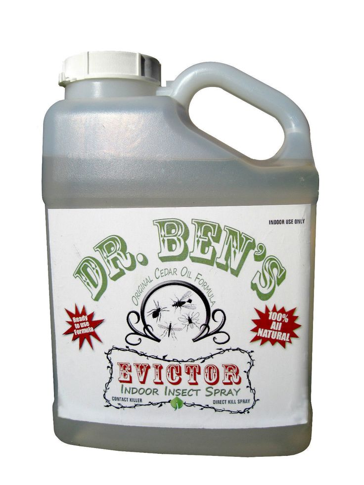 Other Natural Remedies: Dr. Ben S Evictor Cedar Oil Bed Bug And Insect Control Spray Solution - 1 Gallon -> BUY IT NOW ONLY: $109.95 on eBay!