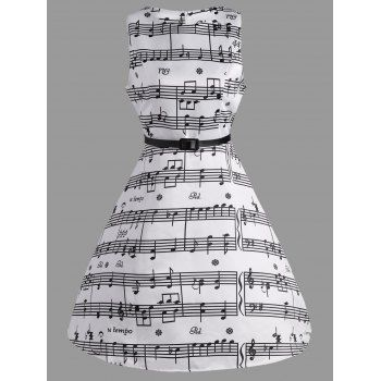 SHARE & Get it FREE | Music Note Print Swing Party DressFor Fashion Lovers only:80,000+ Items·FREE SHIPPING Join Dresslily: Get YOUR $50 NOW!