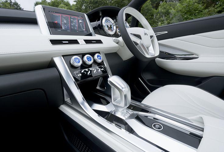 Interior Mitsubishi XM Concept