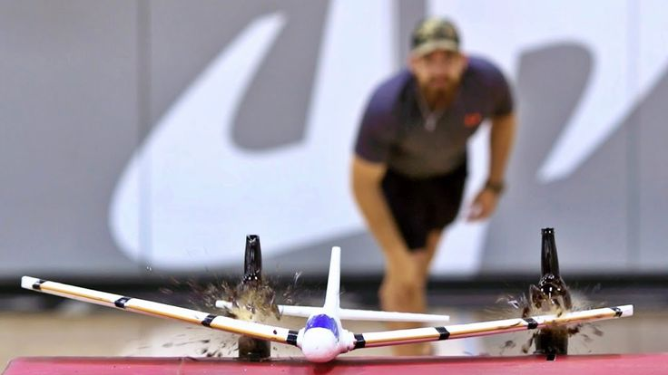 1. Dudes perfect at it again. This time with airplanes.
