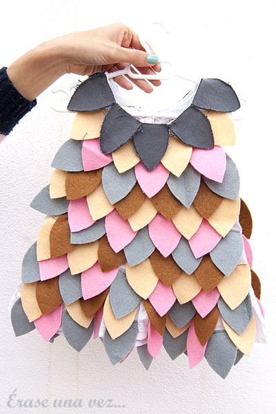 Erase una vez...: Diario de una mamá crafter. Disfraz búho-Bombi.
