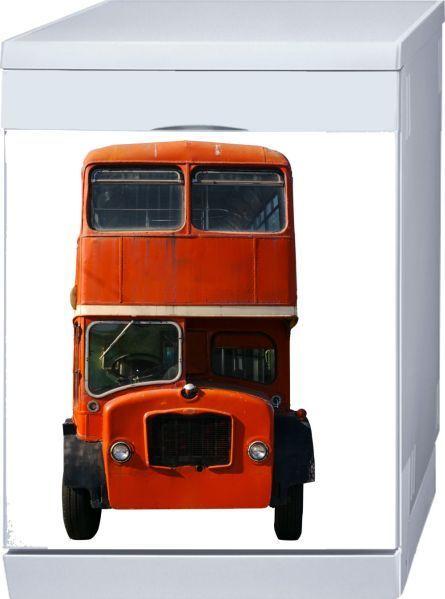 Magnet lave-vaisselle English Bus 60x60
