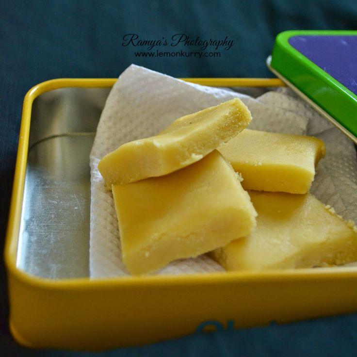 Lemon Kurry: ghee mysore pak - soft mysore pak recipe