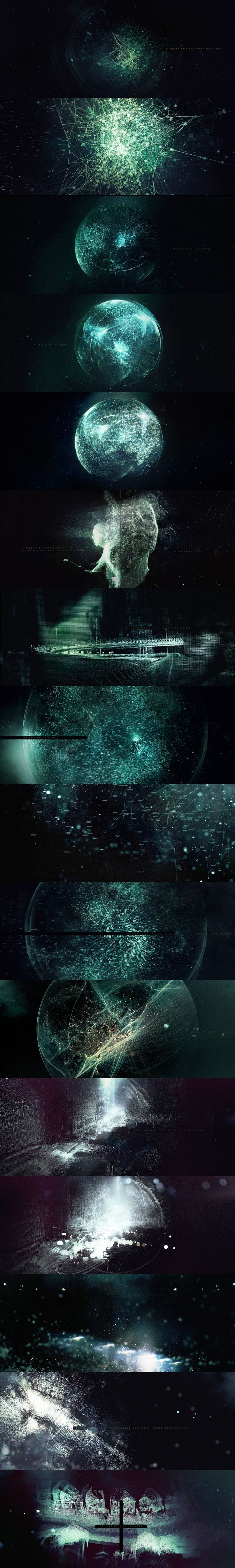 Really effective Graphics Sequence for movie Dawn of the planet of apes. This movie was directed by Matt Reeves This sequence illustrates how infection spreads and how it evolves in Apes.