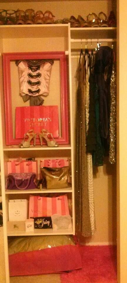 Finally Done With My Victoria Secret Closet :)
