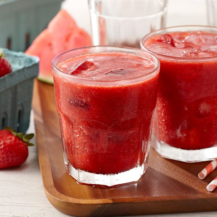 This icy beverage is a great way to escape the heat and enjoy a healthy helping of fresh fruit.
