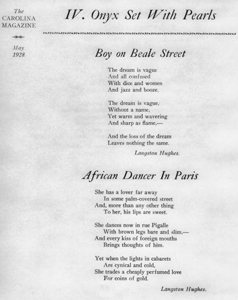 an analysis of i too a poem by langston hughes