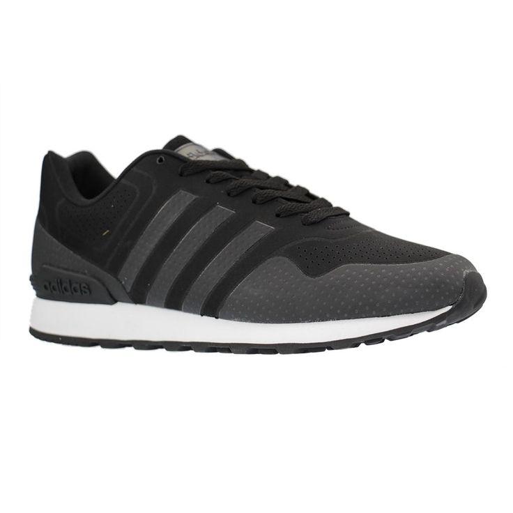 ADIDAS - B74717 - große Damen Sneaker - Schwarz XXL Schuhe in Übergrößen Größe 44. Hier entdecken und shoppen:  https://www.schuhxl.de/damenschuhe/sneaker/gabor-damenschuhe-sneaker-rosa-schuhe-in-uebergroessen/a-11452/