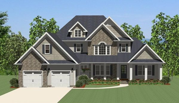 This 1 story features 2469 sq feet. Call us at 866-214-2242 to talk to a House Plan Specialist about your future dream home!