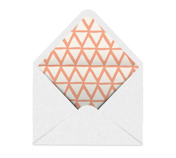 Best Envelope Liners Images On   Invitations