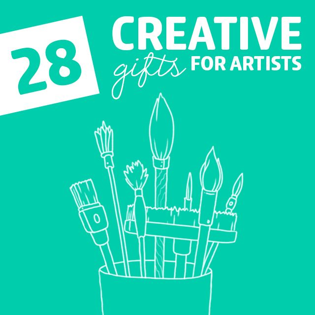 28 Wonderfully Creative Gifts For Artists Painter And Dreamers