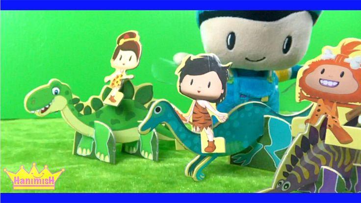 Heidi ve Pepee Çizgi filmi oyuncağı ile Pepee Dinozorlar Diyarında Pepee...