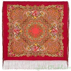 Multicolor woolen shawl
