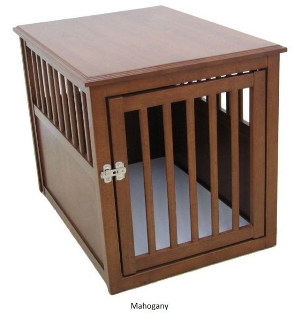 17 best images about wooden dog crates on pinterest dog crate end table medium and espresso. Black Bedroom Furniture Sets. Home Design Ideas
