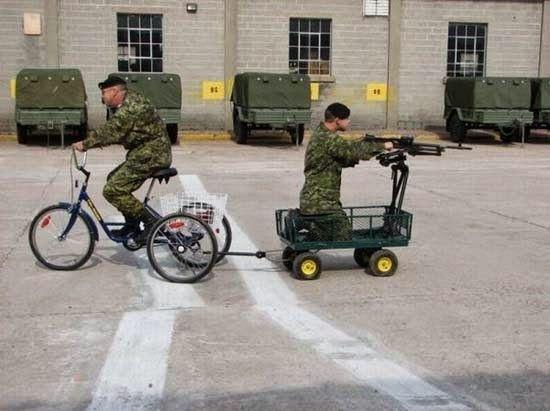 Η ΔΙΑΔΡΟΜΗ ®: Στρατιωτικό χιούμορ