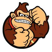 A portrait of #DonkeyKong from #MarioHoops3on3 - more info on this game at http://www.superluigibros.com/mario-hoops-3-on-3