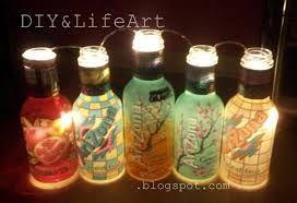 Bildergebnis für lampe aus flaschen