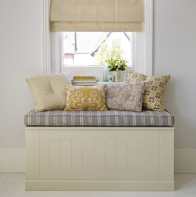 Window bench seat #‎thedormyhouse‬
