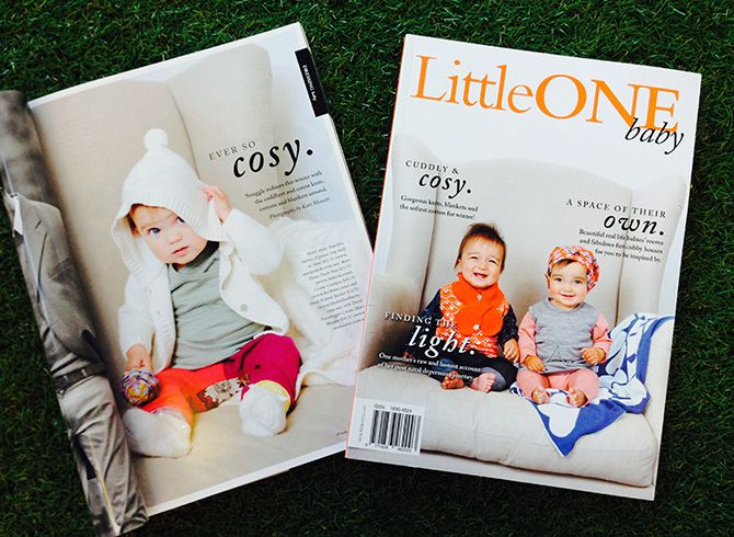 Little One Baby Magazine Winter 2014 Rare Home Track Pant, Award Longsleeve T Shirt  Off Stage Skinny Jean http://www.oishi-m.com