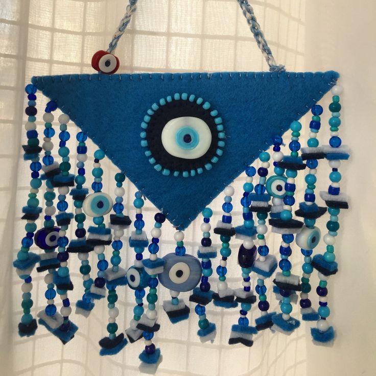 keçe, nazarlık, felt, amulet, turkish eye