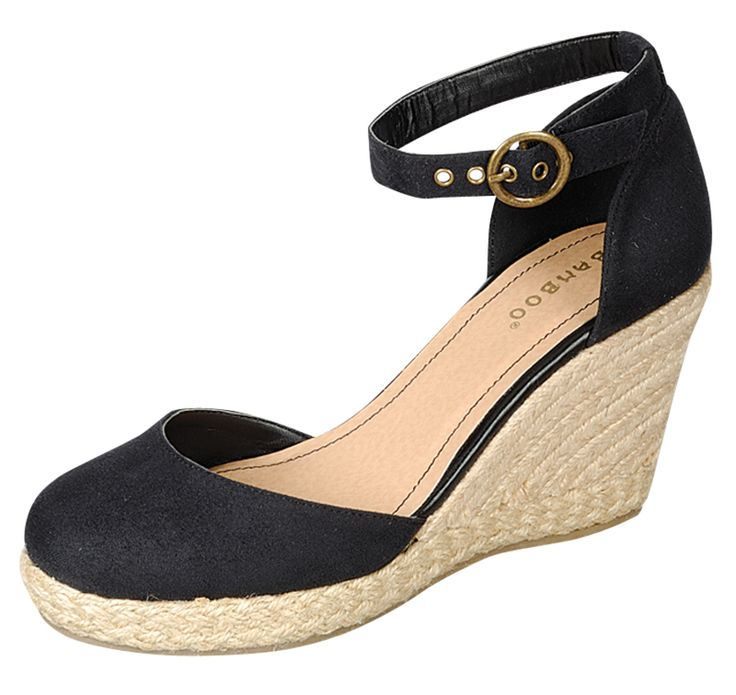 """Gorgeous women's espadrille closed-toe wedges by Bamboo Tessa-01.  Product Quality: Acceptable, extremely cute Model Review: Has been running a bit big, order 1/2 size down.*** Close-toe wedge Open style, like a closed-toe sandal Approximatelly 3.25"""" wedge heel, 0.75"""" platform Espadrille Imported Man-made, animal/vegan friendly"""