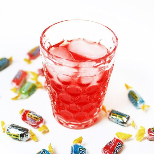 Jolly Rancher Punch -- This cocktail tastes just like a Jolly Rancher, but with only 1 g of sugar and carbs! This lightened version also has less than half the calories of the original.