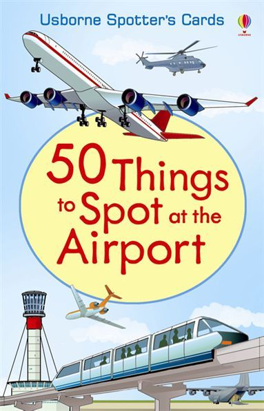 50 things to spot at the airport-Find out about the different things y ou can see at an airport - from the air traffic control tower to aircraft tugs and trucks.  With 50 things to spot, your trip to the airport can become a voyage of discovery. #traveltoys #toysforairplanes #giftsforkids #birthdaypartyfavors