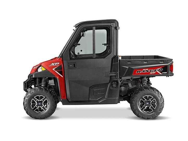 New 2016 Polaris Ranger XP 900 EPS Northstar Edition ATVs For Sale in Michigan. 2016 Polaris Ranger XP 900 EPS Northstar Edition, Polaris Ranger XP 900 EPS Northstar Edition Sunset Red - The ultimate in Ranger xtreme performance for colder climates Class-leading High Output 68 hp ProStar engine NorthStar Edition Features: Premium Pro-Fit cab Fixed glass windshield with windshield wiper Rear glass panel Dome light Rearview mirror Heater with defrost Heated cut-and-sew seats