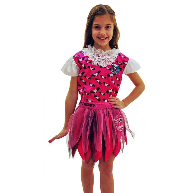 Draculaura Glow in the Dark Dress Up Costume from Funstra Toys