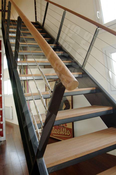 Les 25 meilleures id es de la cat gorie cable inox sur - Decoration interieur industriel ...