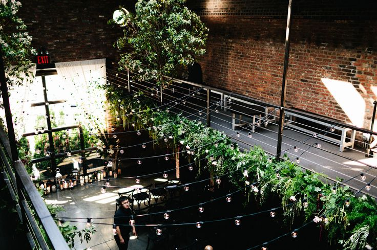 industrial The Foundry New York Wedding