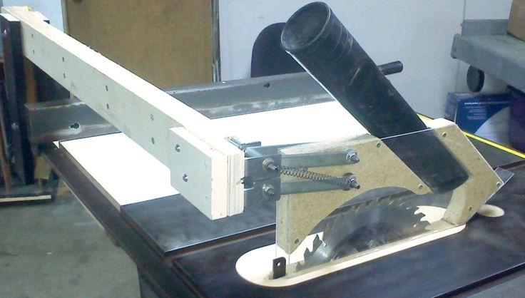 Table Saw Blade Guard Dust Collection Table Saw Pinterest Table Saw Blades Dust