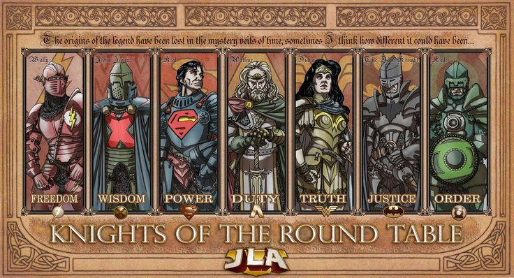 DC Knights of the round table!