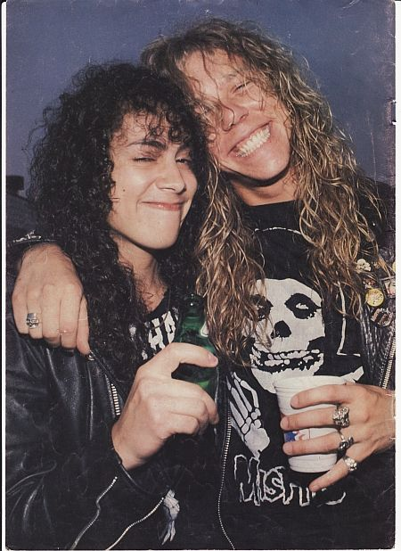 Kirk and James I'VE ALWAYS LOVED THIS PIC...YOUNG AND DRUNK!!!!