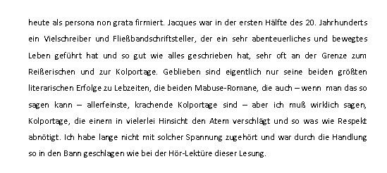 """Aus einer Besprechung des Hörbuches im MDR: From """"Dr. Mabuses letztes Spiel"""" story by Dr. Reinhold Keiner on Storify — http://storify.com/MEDIANetEdition/dr-mabuses-letztes-spiel"""