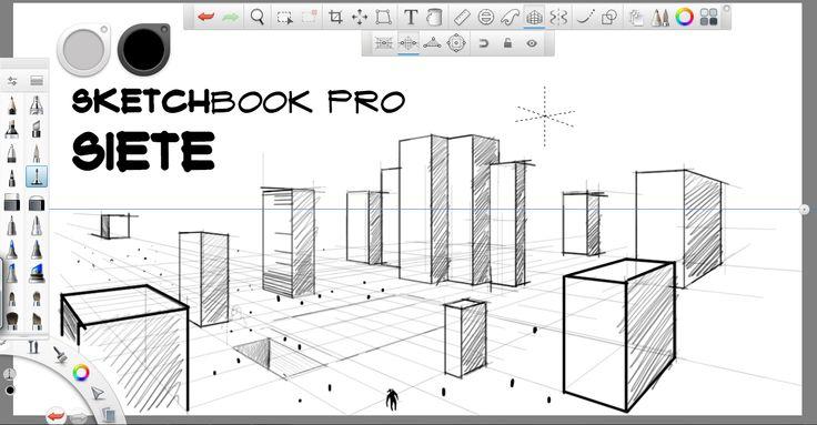Reseña de Sketchbook pro 7 - perspectiva | [ Arte+ ]