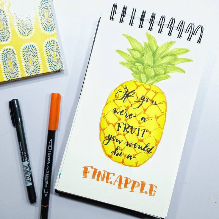I decided I couldn't resist to join the #letteringwithpuns because it's too funny  Day 1, soon coming the 2nd  . . . . . #handlettering #handletteringpractice #brushlettering #brushcalligraphy #letteringchallenge #lyraaquabrushduo #pineapple #fineapple #puns #tombow #brushpen #handtype #typeinspire #letterinspire #lettering #letteringph
