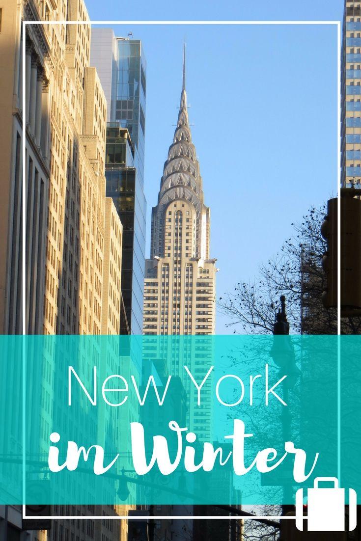 Städteurlaub in New York im Winter... geht das? Hier findest du meine New York Reise Tipps für deinen Winter Kurztrip in den Big Apple!