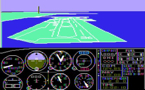 In the 1980s, an IBM computer wasn't considered 100 percent compatible unless it could run Microsoft Flight Simulator.