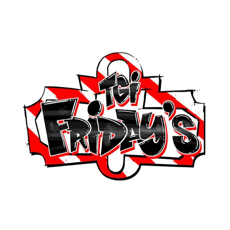 Client: TGI Kids Menu - #graffiti #design #logo #logodesign #handstyle #bespoke #custom #logodesign #branding #logo #icon #icondesign #type #typography #business #officedesign #TGIfridays