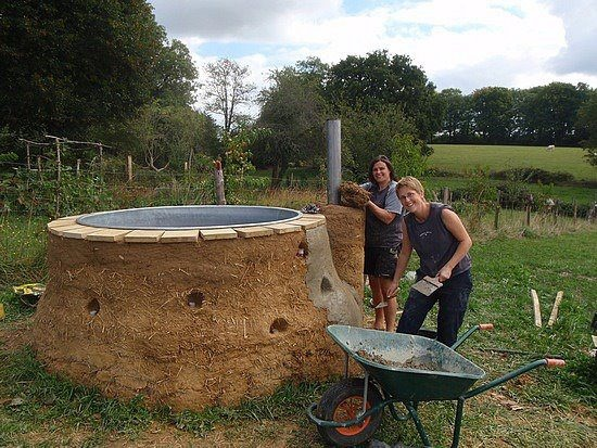 17 images about diy hottub anyone on pinterest rocket - How to make your own swimming pool heater ...